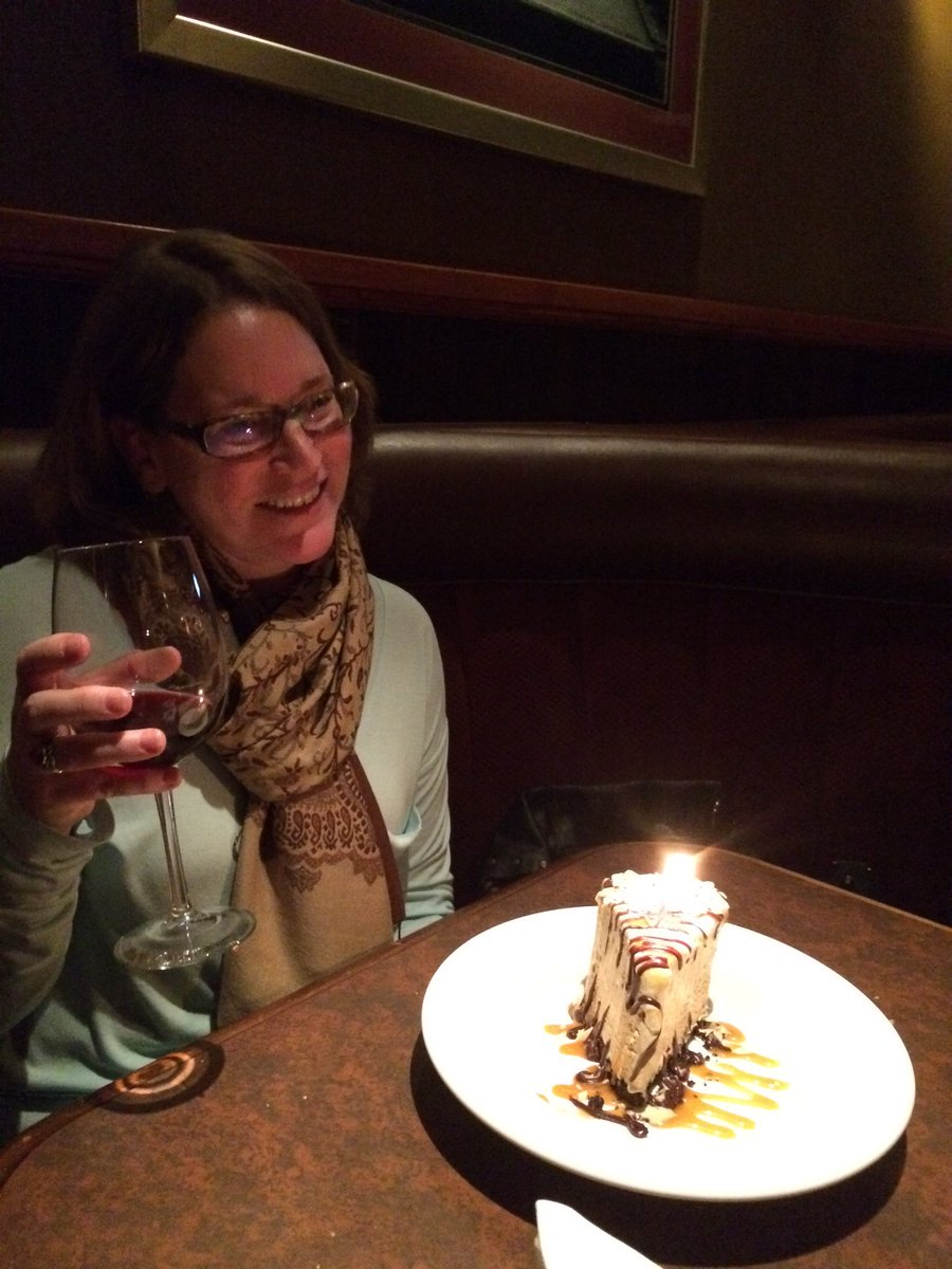 Twitter post: RT @wendysland: Birthday celebrations @TheKeg for the little…Read more. Opens full post in an overlay