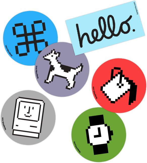 susan kare on twitter hi res low res icon stickers free with