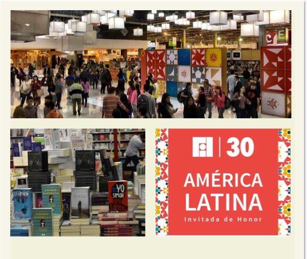 Hoy comenzó el máximo evento literario de  Iberoamérica #FILGuadalajara30, más de 2 mil editoriales de 40 países.
