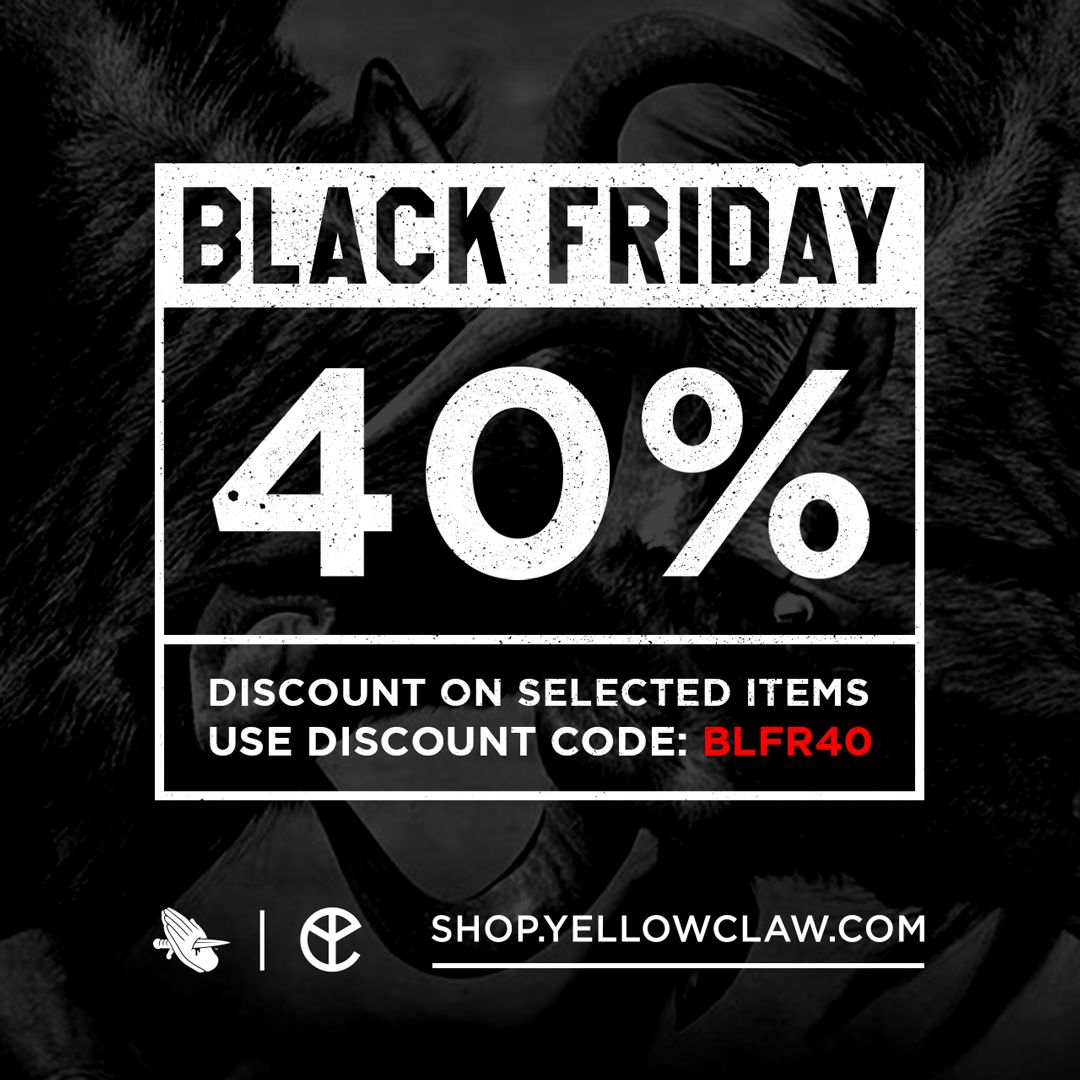 yellow claw on twitter even more discount visit our shop for 40