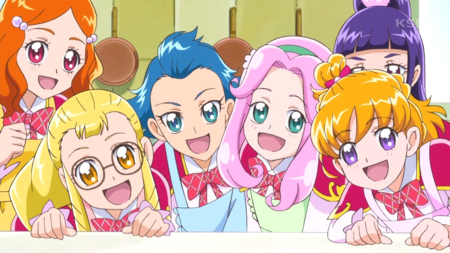 はーちゃんどこ見てんの #nitiasa #precure https://t.co/oKASZDsH0r