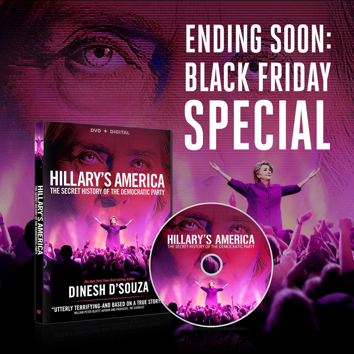 Dinesh D Souza On Twitter Ending Soon Claim Your Special Blackfriday Offer On This Signed Movie Combo Pack Https T Co G0hbvrpxup