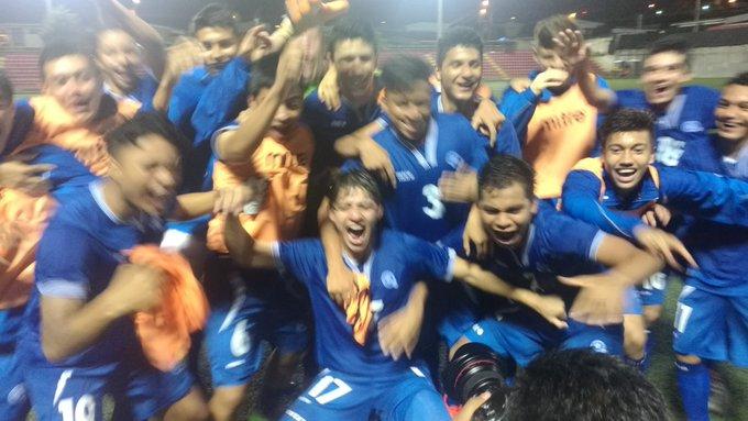 Eliminatorias de centroamerica rumbo al mundial sub17 de india 2017. El Salvador 2 Nicaragua 0. CyOuK04WEAA71pW
