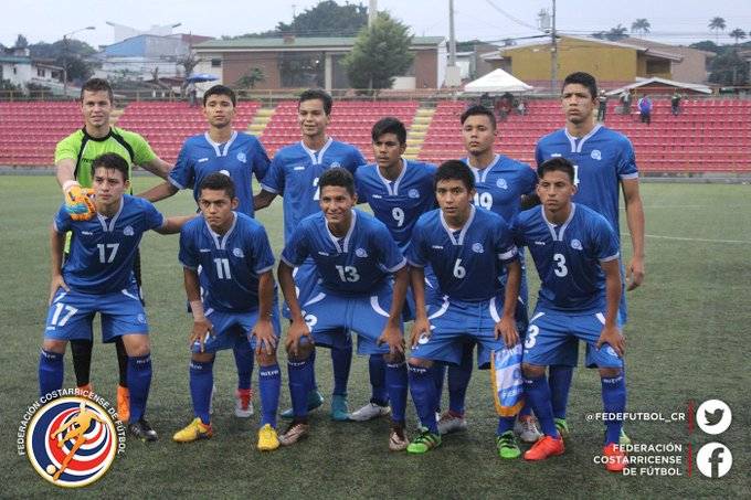 Eliminatorias de centroamerica rumbo al mundial sub17 de india 2017. El Salvador 2 Nicaragua 0. CyOuPJ6WEAEDA5_