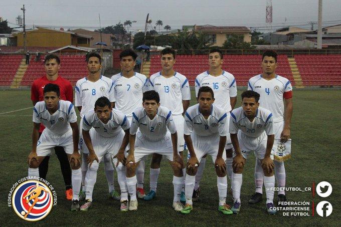 Eliminatorias de centroamerica rumbo al mundial sub17 de india 2017. El Salvador 2 Nicaragua 0. CyOuPJNW8AEZo2f