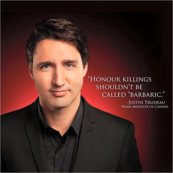 #trudeaueulogies I don\'t have to make one up.
