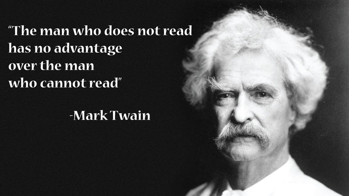 Steve Case On Twitter The Man Who Does Not Read Has No Advantage
