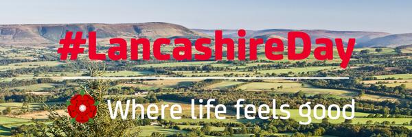 Today we're celebrating #LancashireDay! #WhereLifeFeelsGood #WeAreLancashire please RT if you ♥ Lancashire