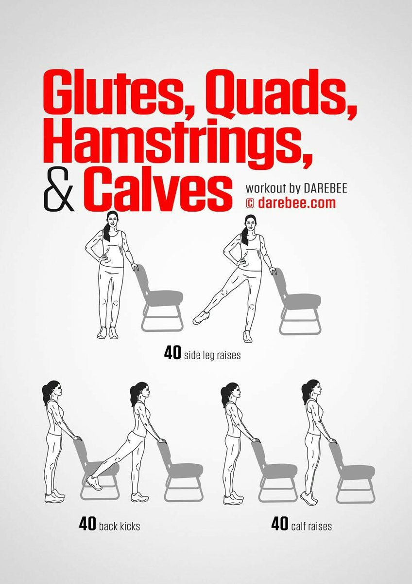 Darebee On Twitter Quot Workout Of The Day Glutes Quads