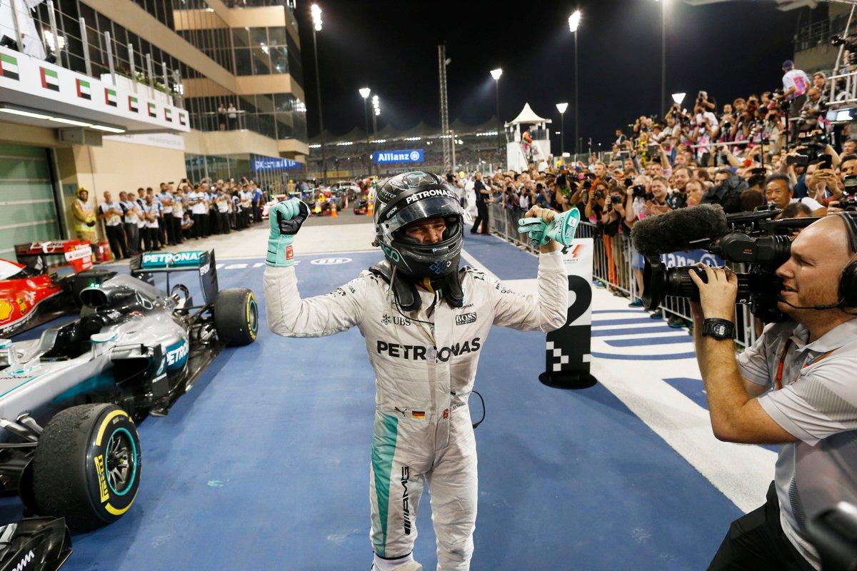 Nico Rosberg... 2016 Formula One World Champion... #n1co  #F1Finale #AbuDhabi #F1