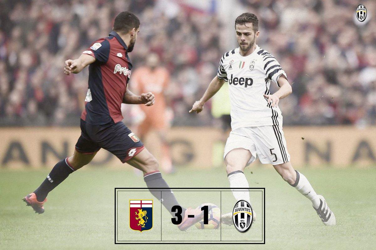 Genoa-Juventus 3-1, terza sconfitta in Serie A. In classifica Bianconeri a +4 dal Milan