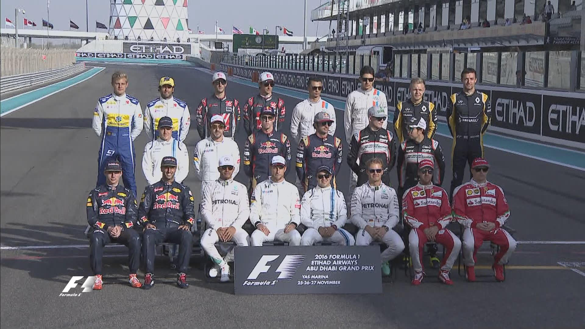 Lista provisional de pilotos de Fórmula 1 publicada por la FIA para la temporada 2017