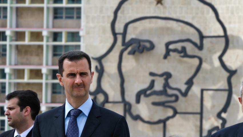 Assad: 'The name Fidel Castro will live forever ... for all the peoples who aspire for real independence.' goo.gl/B39SDx
