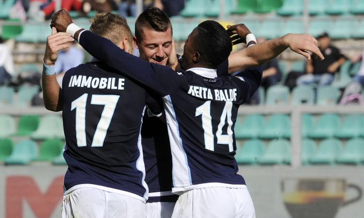 Lazio vs Palermo Highlights