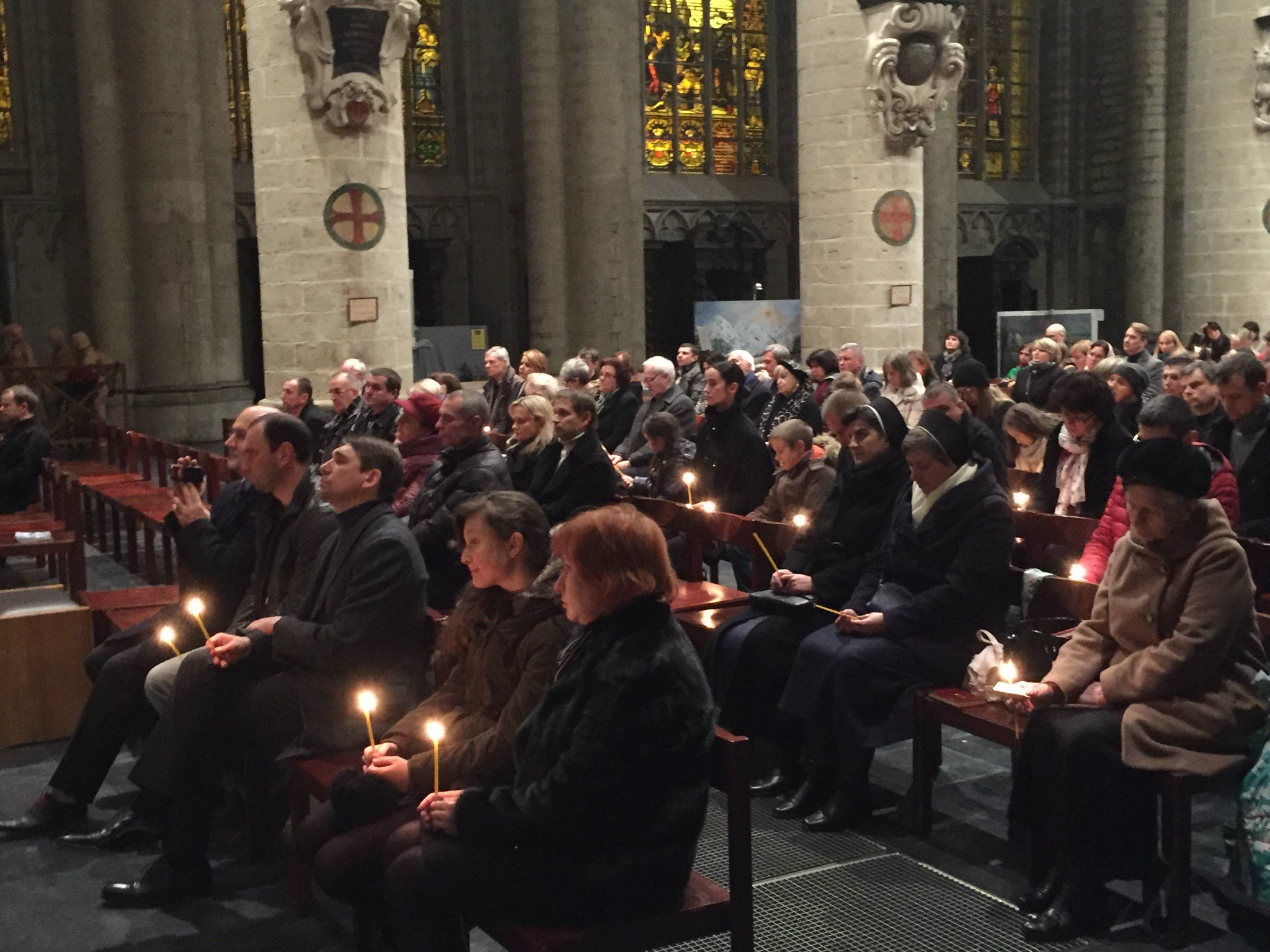 With memorial bells and common prayer Brussels honors memory of Holodomor-genocide in Ukraine - https://t.co/J9K6jpZAYC https://t.co/EyXWaLQ8VF