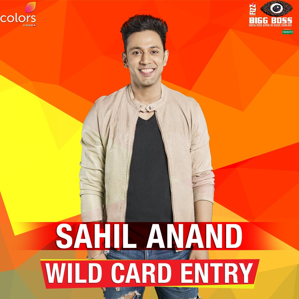 Sahil Anand Bigg Boss 10 Wild Card Contestant Biography Age Wiki Full Profile DOB Photos