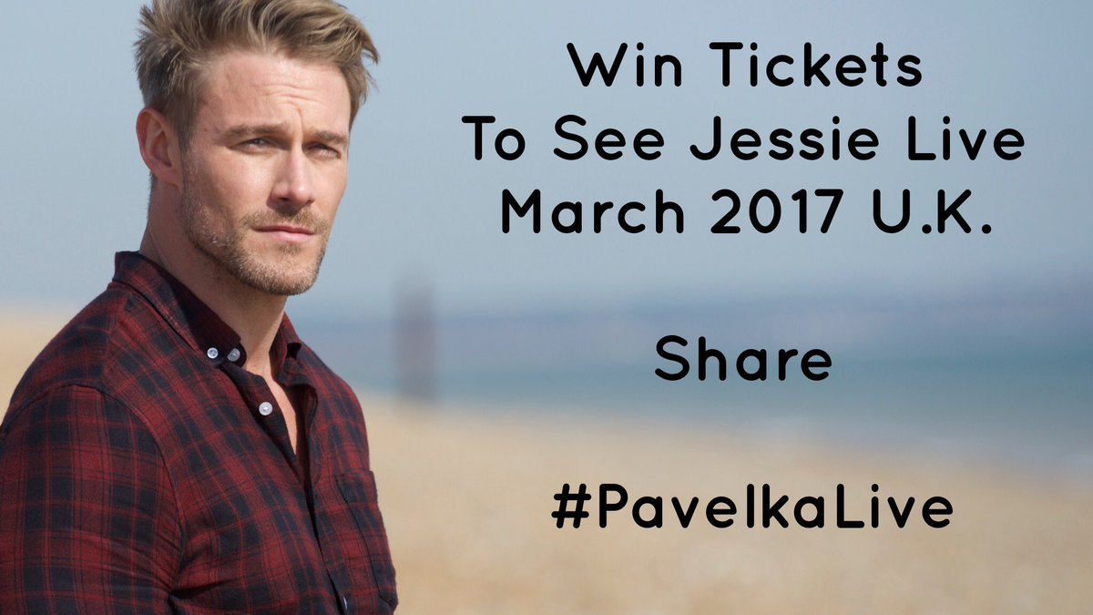 WIN! Two tickets to my live shows in March in UK up for grabs. Just RT! Add #PavelkaLive. Until 29Nov.  https://t.co/wQVyL1piol