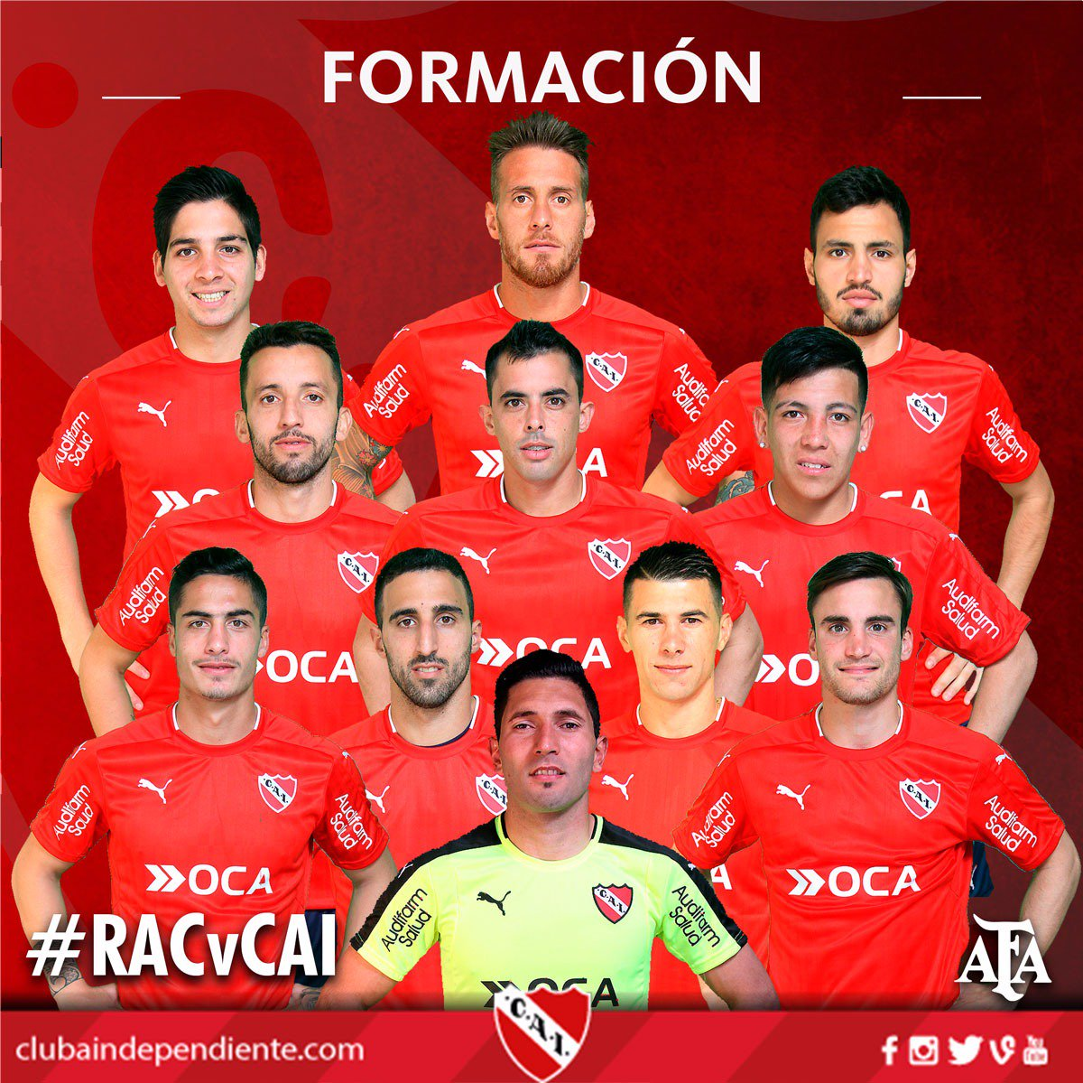 Once confirmados