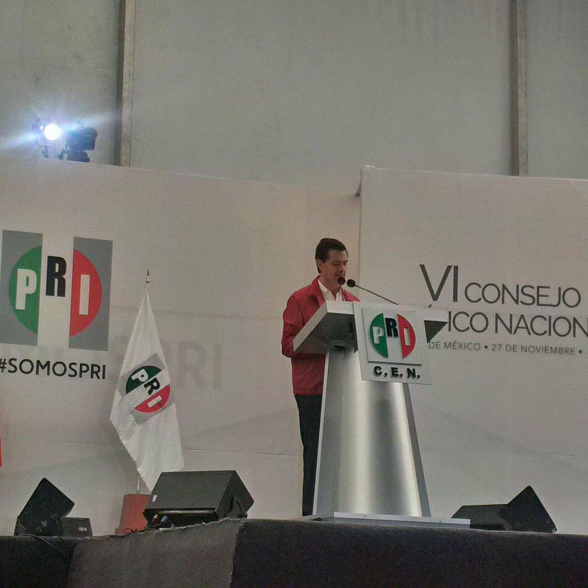 El @PRI_Nacional y el Presidente @EPN impulsan el proyecto de nación que hará a México más próspero, equitativo  y competitivo