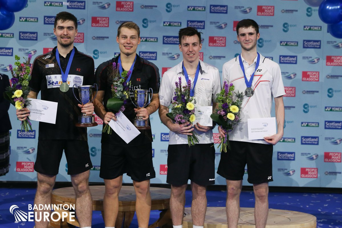 "Badminton Europe on Twitter ""Congrats Mathias Christiansen David"