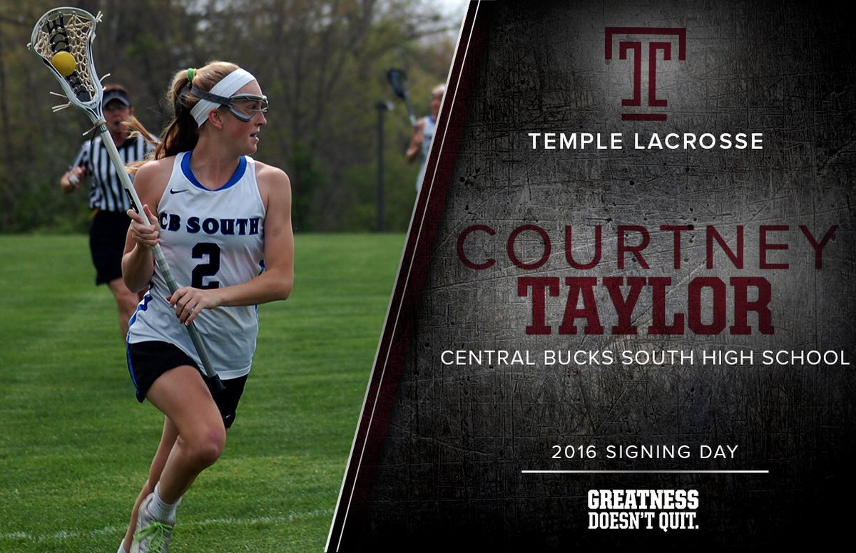temple lacrosse on twitter we still have a couple new owls left to welcome for tulax next year today were saying hello to courtney taylor