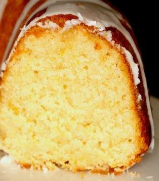Brandy Eggnog Cake