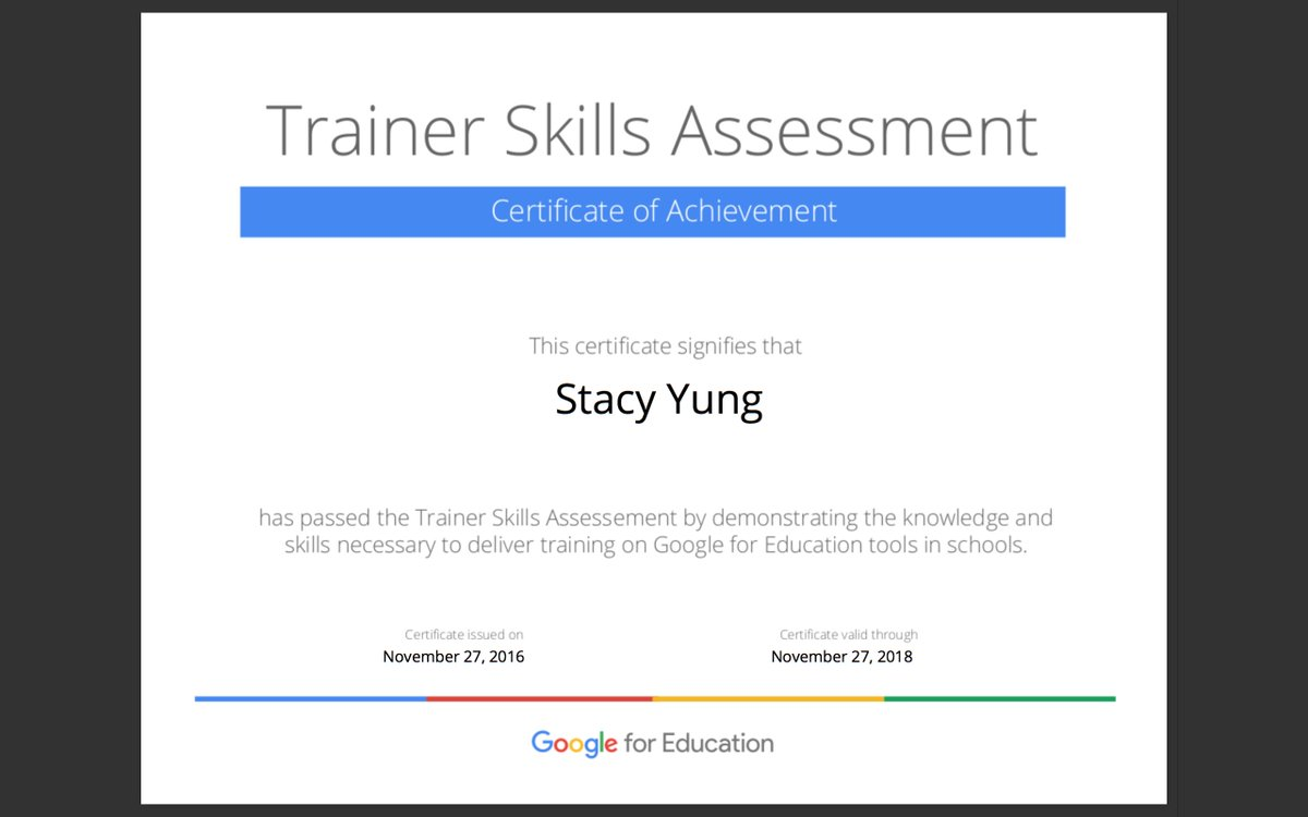 Stacy Yung On Twitter One Step Closer To Applying To Be A Google