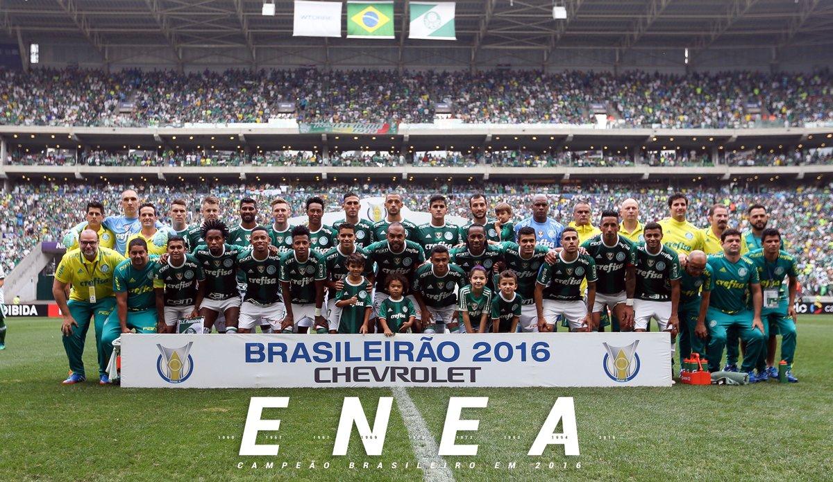 ACABOU! O PALMEIRAS É ENEACAMPEÃO BRASILEIRO!  #PalmeirasEneacampeão #AvantiPalestra #PALxCHA 🏆🏆🏆🏆🏆🏆🏆🏆🏆