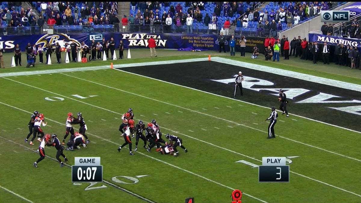 Ravens successfully run out the clock, win game by committing holding against every Bengals player: http://deadsp.in/zkEdWWd
