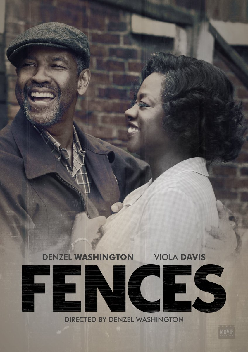Image result for fences movie poster