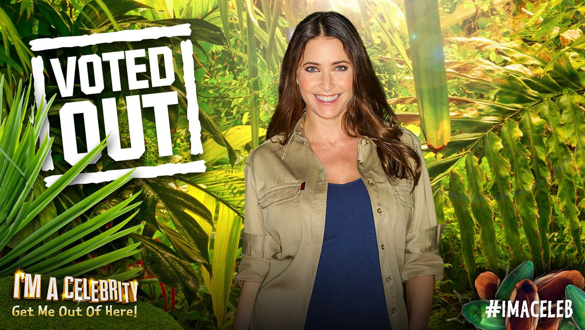 Celebrity Lisa Snowdon is Voted Out of the Celebrity Jungle