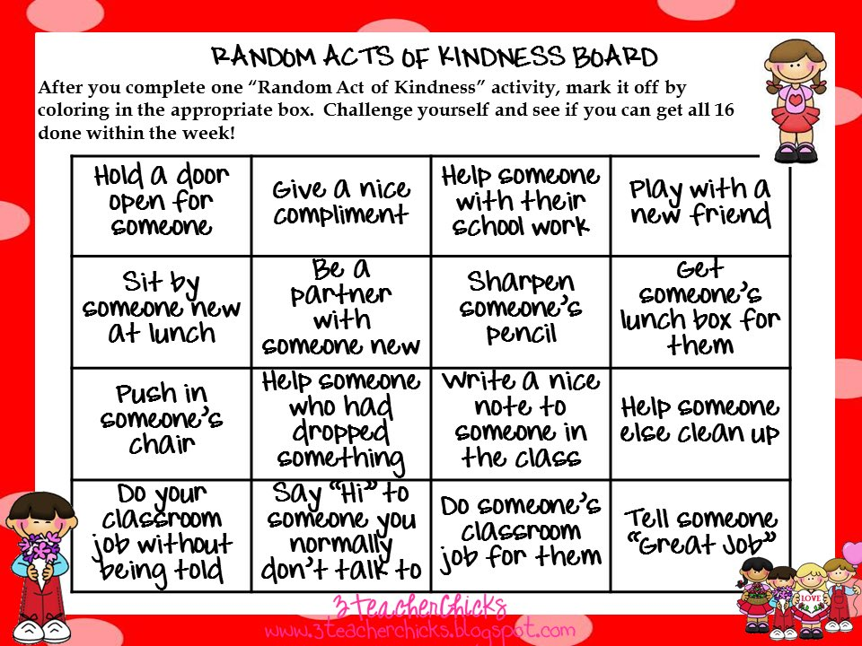 random act of kindness essay We will write a custom essay sample on random acts of kindness specifically for you for only389/page free, random, acts, of, kindness, essay he questions whether he does these acts for the reason of fate or the reason of providence.