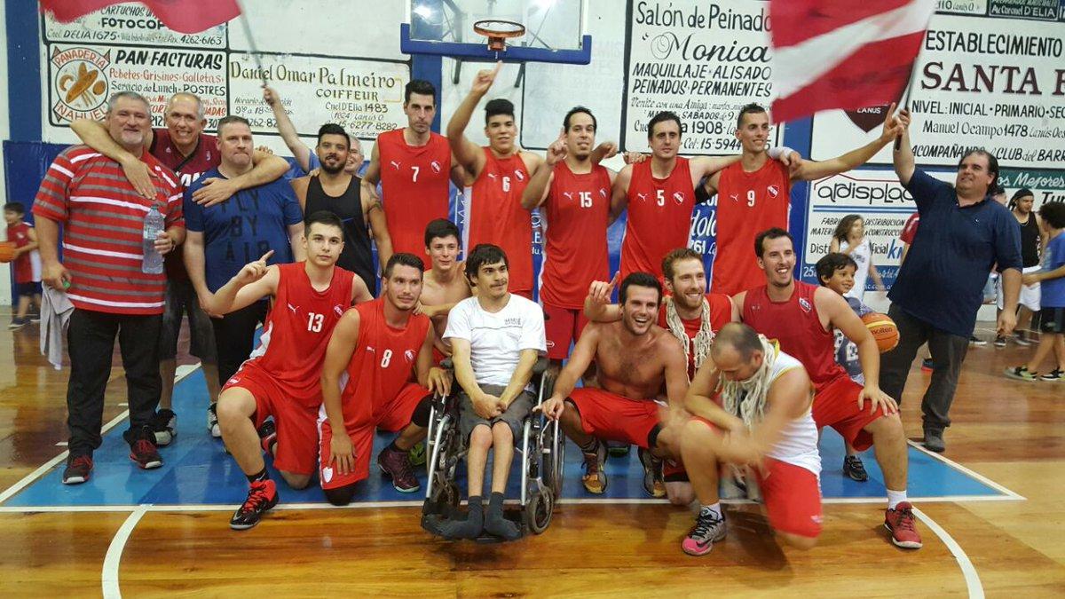 Campeones en basquet