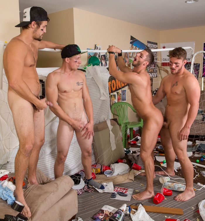 dorm gay bareback