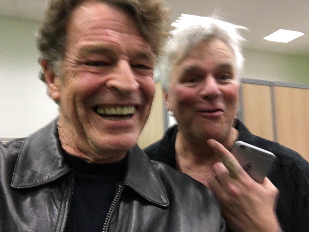 john noble on Twitter: With the legendary Richard Dean