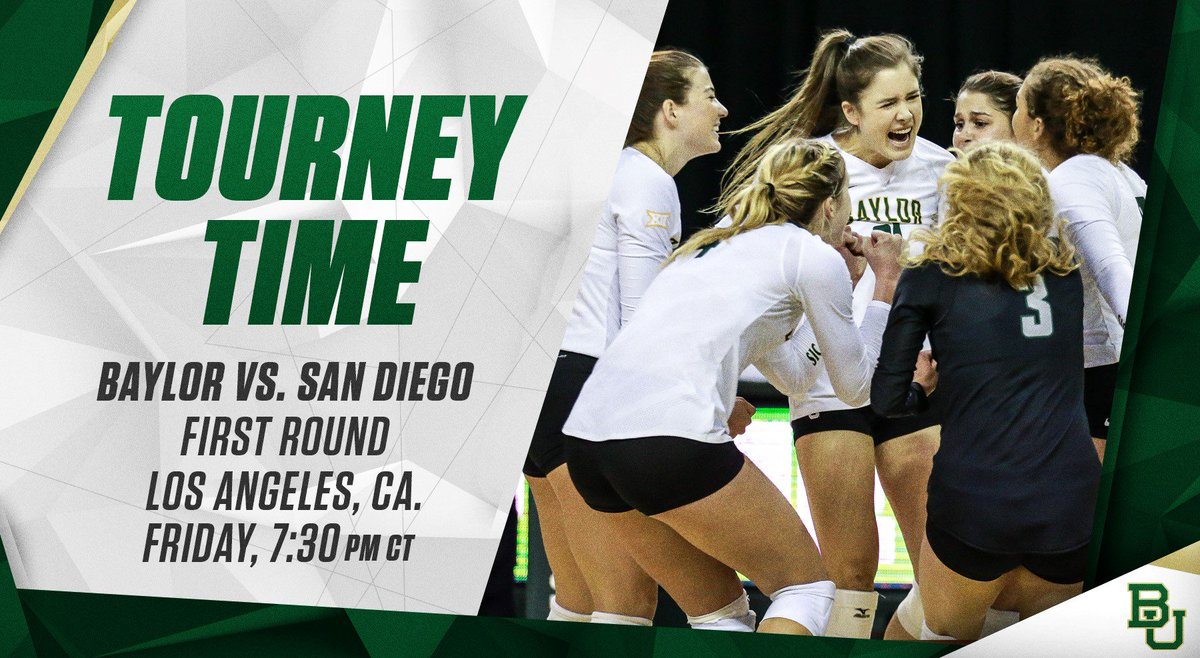 The Bears are DANCING! #BUVB makes its first #NCAAVB tourney since 2011! #SicEm https://t.co/hbciE3mvXE