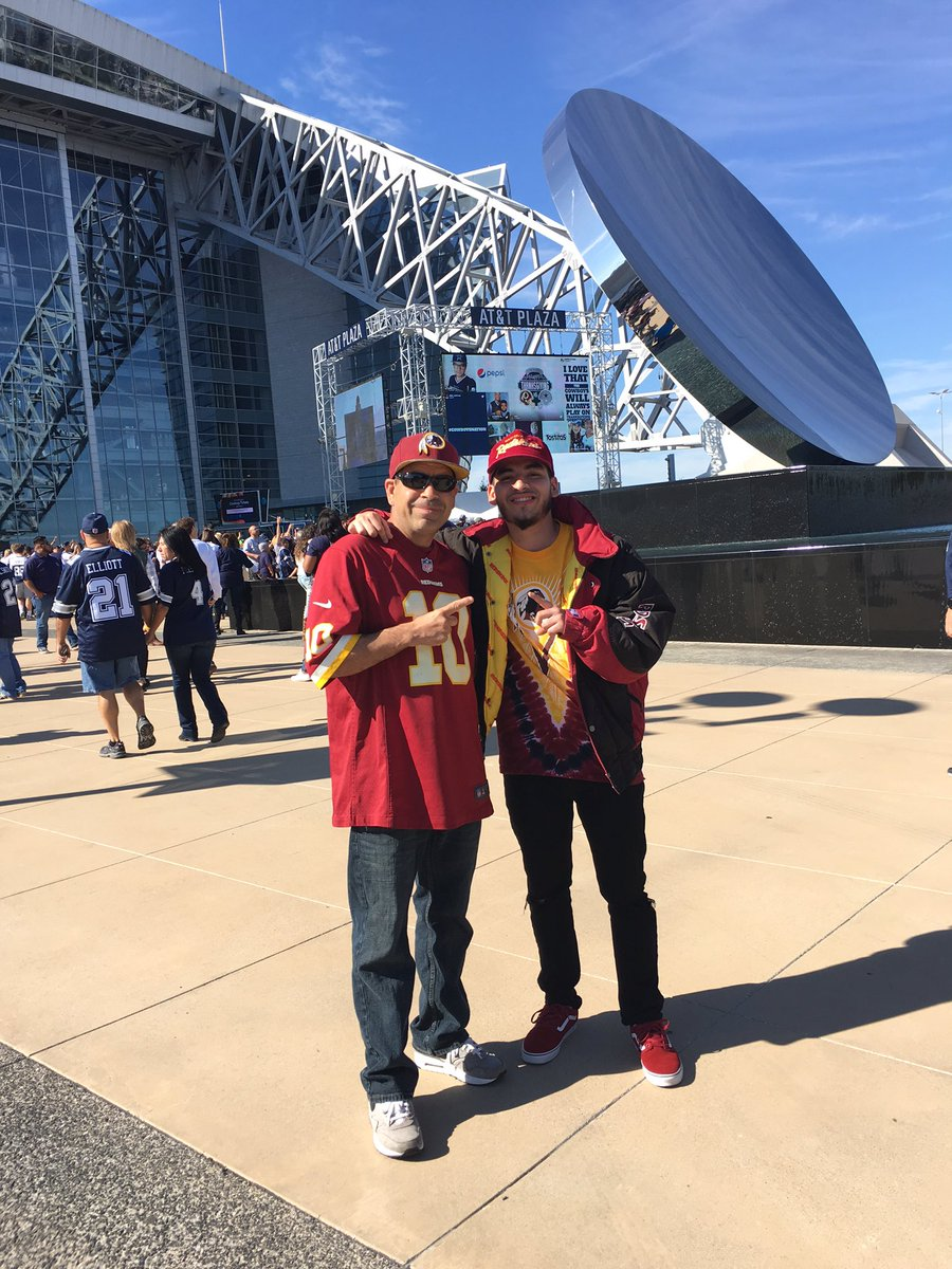 Thanksgiving Game with the Pops #HTTR #WASvsDAL