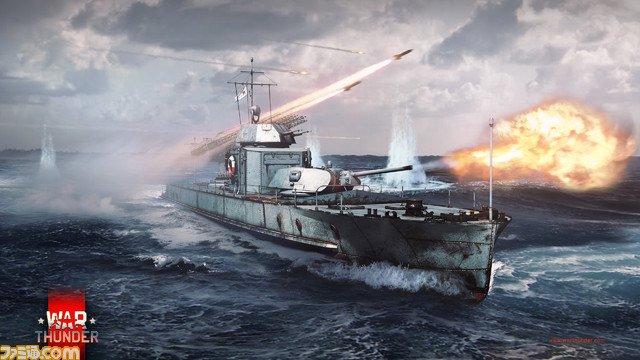 PC用マルチコンバット『War Thunder』海戦クローズドβテスト(第1回)を実施。次回開催も間近に #WarThunder #WarThunder_JP