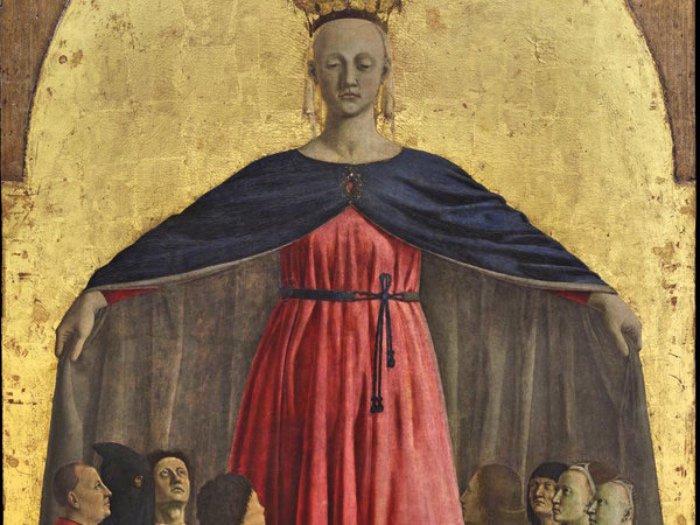 La Madonna della Misericordia di Piero della Francesca a Milano