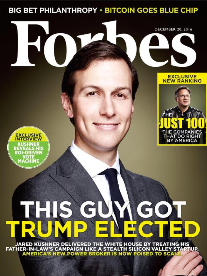 My husband, Jared, was profiled in @Forbes December.  I'm so proud of him—he amazes me every day!