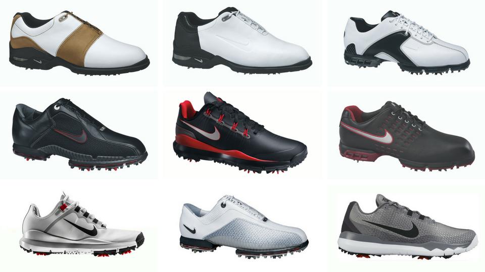 tigerwoods nike golf shoes through the years photos nikegolf tigerwoods 08fd2cc0d