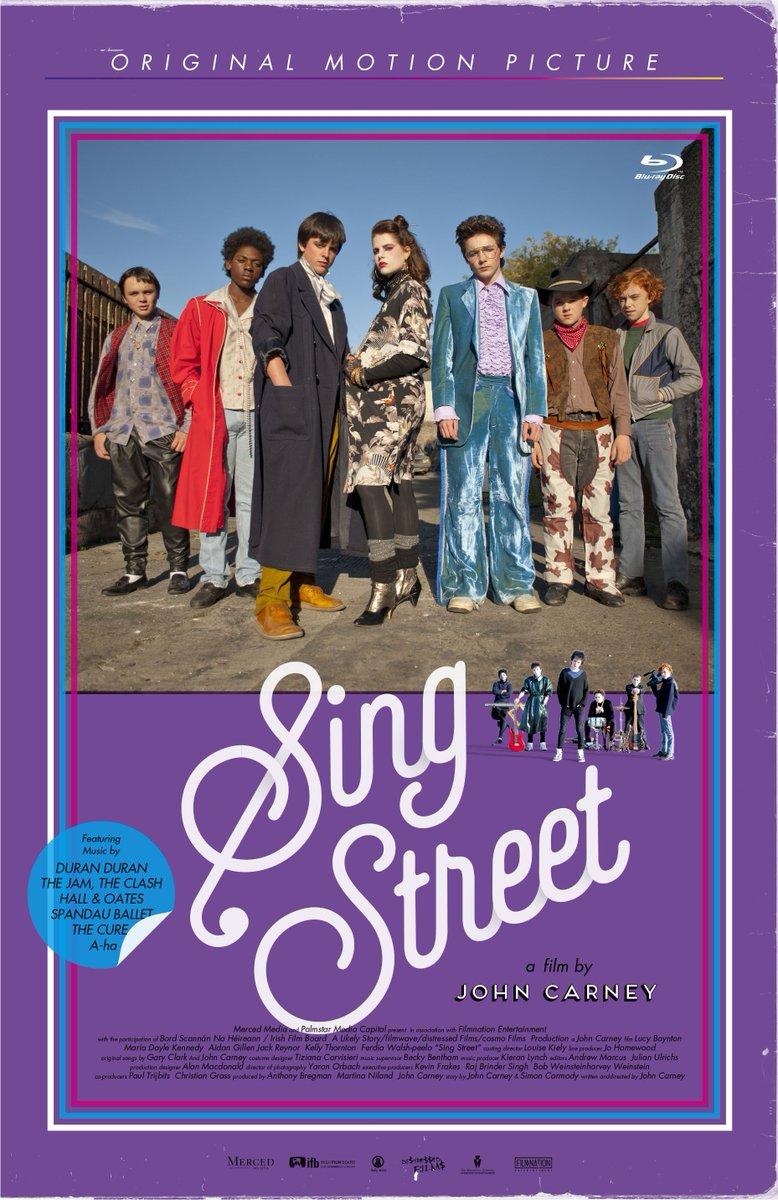 """『シング・ストリート 未来へのうた』のBlu-ray プレミアム・エディションは、本末転倒!VHS""""風""""ケース仕様でデザイン進行中です。https://t.co/5igFC5fy5U https://t.co/N4hKW7vJVG"""
