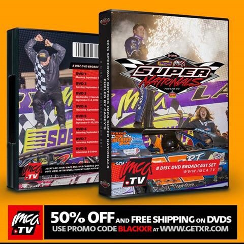 50% OFF and FREE SHIPPING on IMCATV DVD Sets! Extended to Dec 1! Use Promo Code: BLACKXR at http://www.getxr.com pic.twitter.com/9U9btCRpvy