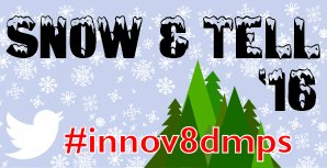 R U ready for our 2nd annual Twitter challenge? Look for details coming out on from IC very soon! #innov8dmps https://t.co/CW5ZU5fY3O