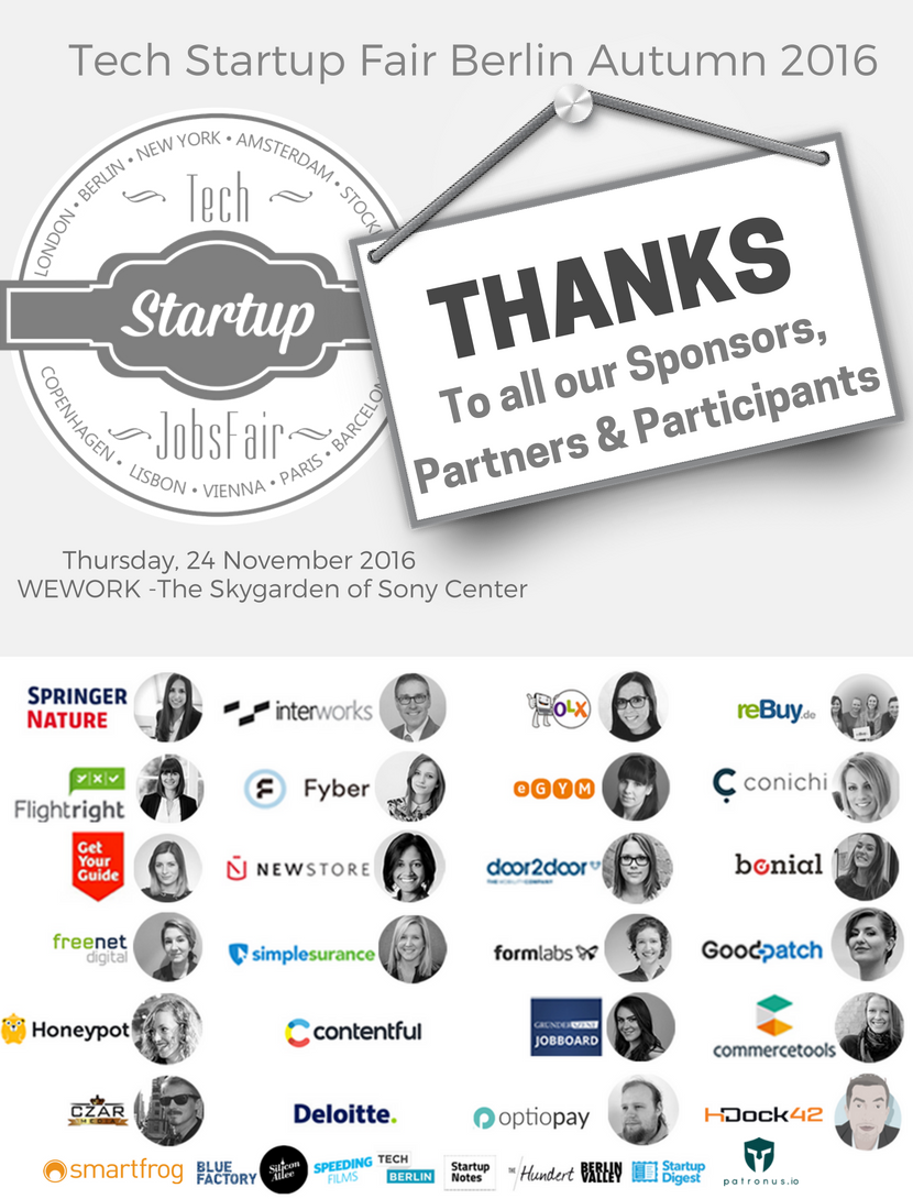 Thank You All for joining #TSJFair Berlin #jobfair & helped us to increase diversity of tech & startups culture by supporting Startup Talent https://t.co/RlopXvjp55