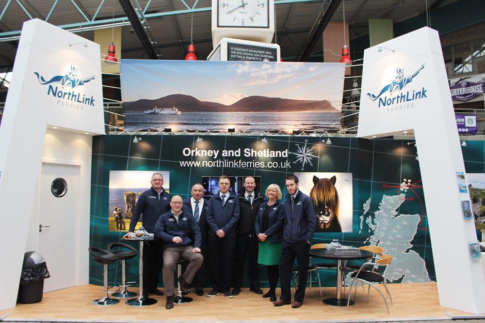 Northlink Ferries Promotional Sticker North Link Shetland Orkney