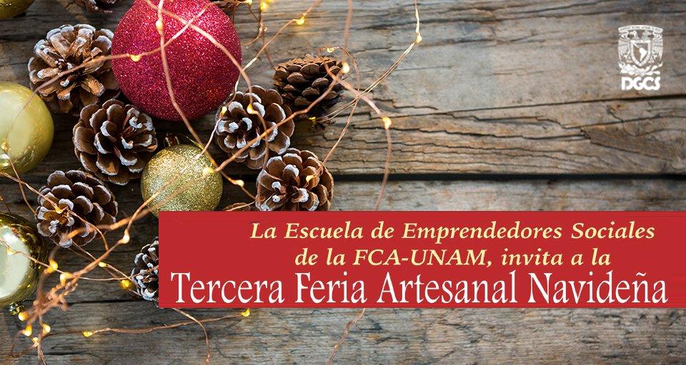 Unam On Twitter Embellece Tu Navidad Con Obras De Artesanos