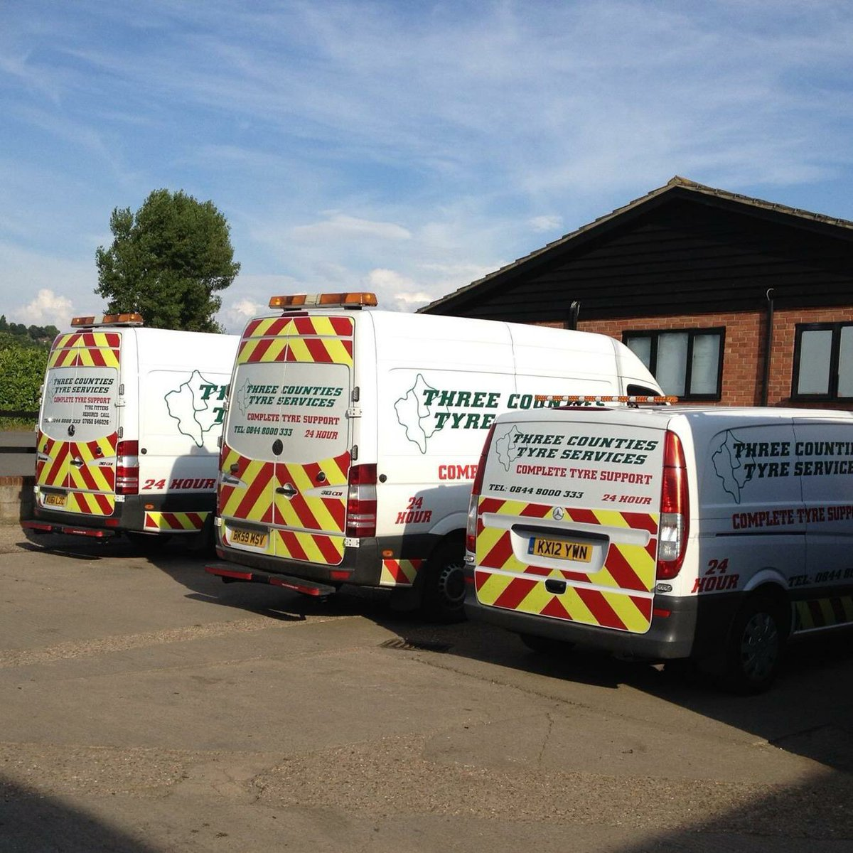 Three Counties Tyres On Twitter Mobile Truck Tyre Fitting
