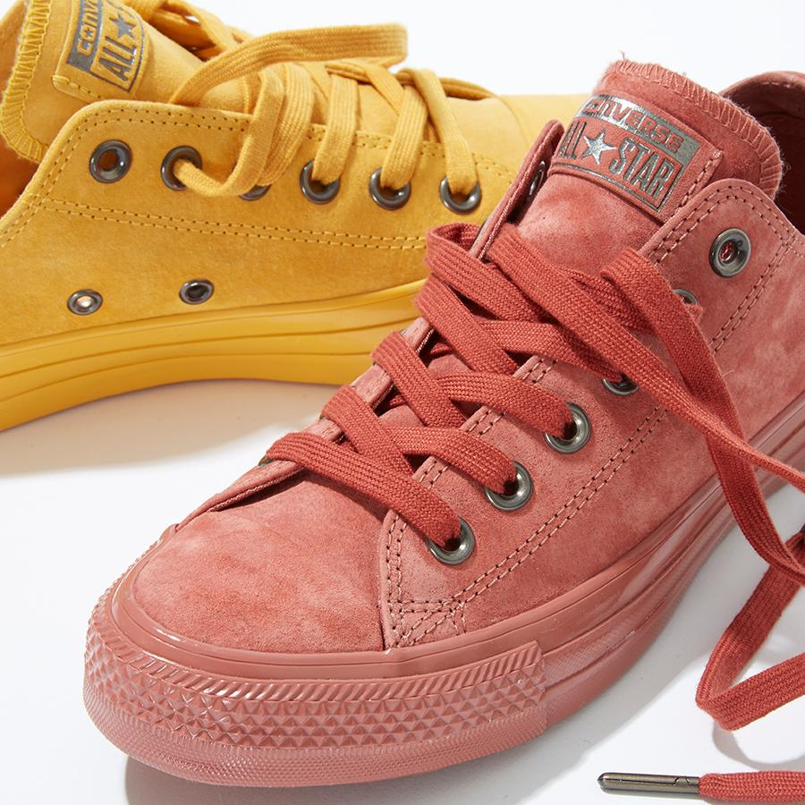 fb542b9bc873 ... inexpensive shop our exclusive converse all star low leather in artisan  gold suede etruscan red 64b92