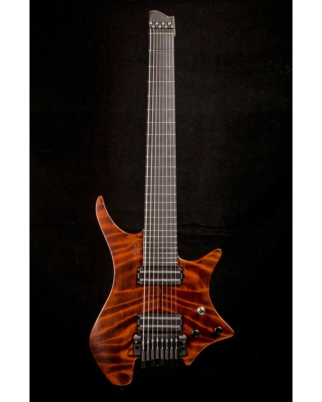 Strandberg Guitars On Twitter The Front Of Strandbergguit 71 This Is Musicman Silhouette Special Way You Have To Think Belonging Simon Girard Beyondcreation1 Eightstring Madetomeasure Redwood
